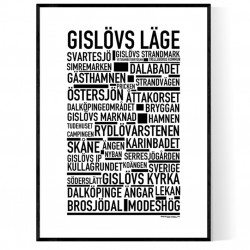 Gislövs Läge Poster