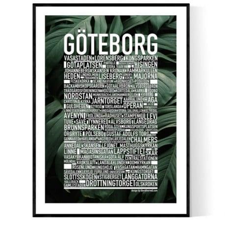 Göteborg Botanisk Poster