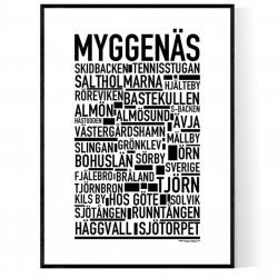 Myggenäs Poster