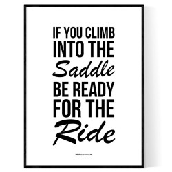Ready For The Ride Poster