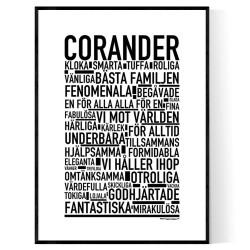 Corander Poster
