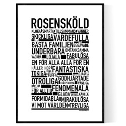 Rosensköld Poster