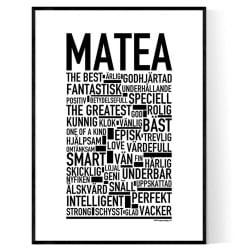 Matea Poster