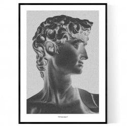 David Portrait Poster