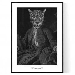 Leopard Renaissance Poster