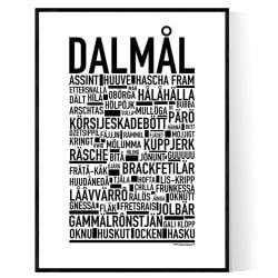 Dalmål Poster