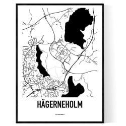 Hägerneholm Karta