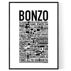 Bonzo Hundnamn Poster