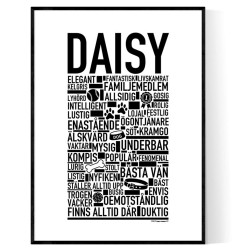 Daisy Hundnamn Poster