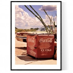 Ice Cold Coke Poster