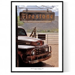 Firestone Ford Poster