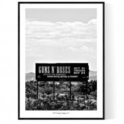 Guns N' Roses Billboard USA Poster