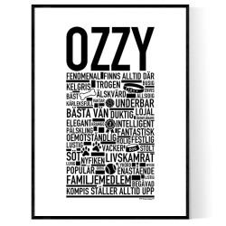 Ozzy Hundnamn Poster