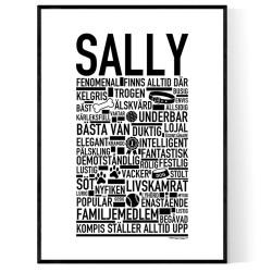 Sally Hundnamn Poster