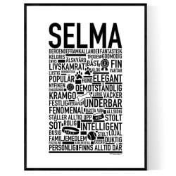 Selma Hundnamn Poster