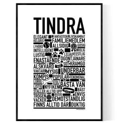 Tindra Hundnamn Poster