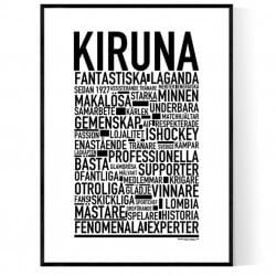 Kiruna Hockey Poster
