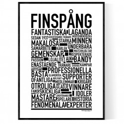 Finspång Bandy Poster