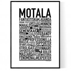Motala Bandy Poster