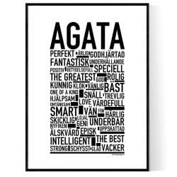 Agata Poster