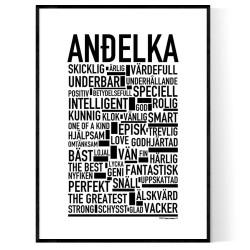 Andelka Poster