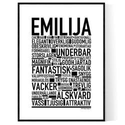 Emilija Poster