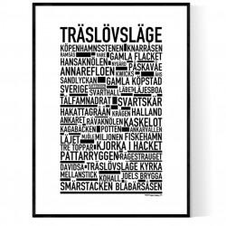Träslövsläge Poster