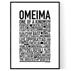 Omeima Poster