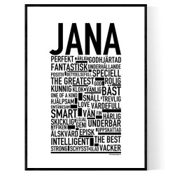 Jana Poster