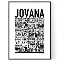 Jovana Poster