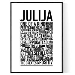 Julija Poster