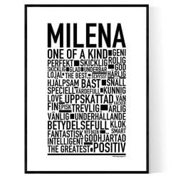 Milena Poster