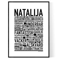 Natalija Poster