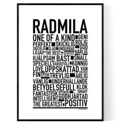Radmila Poster