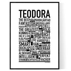 Teodora Poster