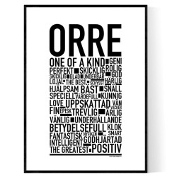 Orre Poster
