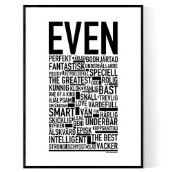 Even Poster