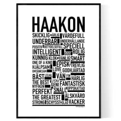 Haakon Poster