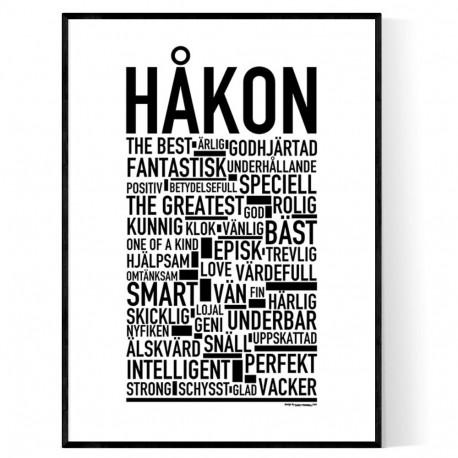 Håkon Poster