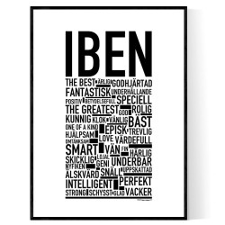 Iben Poster