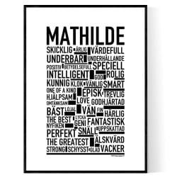 Mathilde Poster