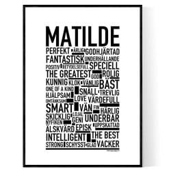 Matilde Poster