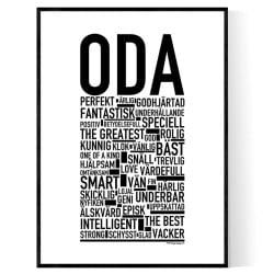 Oda Poster