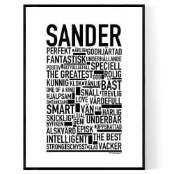 Sander Poster
