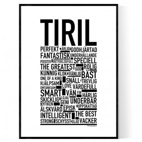 Tiril Poster