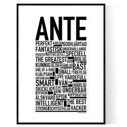 Ante Poster