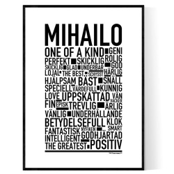 Mihailo Poster