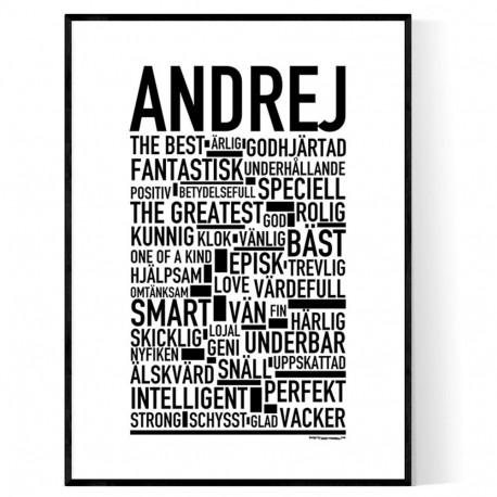 Andrej Poster
