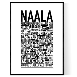 Naala Hundnamn Poster