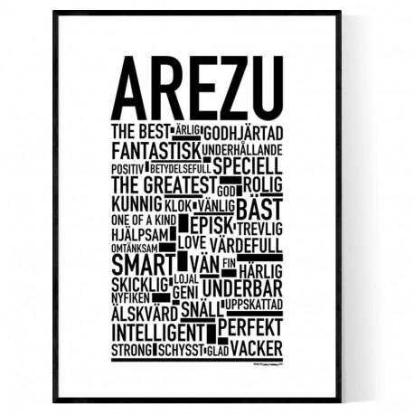 Arezu Poster